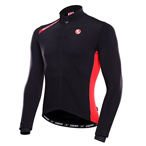 Women and Men's Long Sleeve Bike Bicycle Riding Cycling Jersey Couple Models Jacket Windproof Thermal for Outdoor (Men, ()