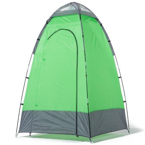 skandika Duschzelt 130 X 130 X 210 cm 16047 Cabina Ducha Camping, Unisex Adulto, Verde/Gris: Amazon.es: Deportes y aire libre