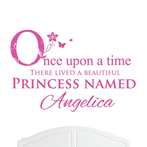 A Beautiful Princess Named Angelica Large Once Upon a Time Wall Sticker/Decal Bed Room Art ()