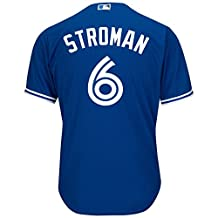 Toronto Blue Jays Marcus Stroman 2016 Cool Base Replica Alternate MLB Baseball - Size Medium