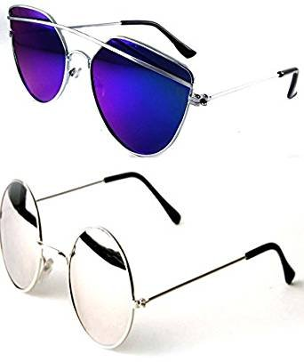 570ca4f87 Sheomy Best Gift Sets of Unisex Combo Offer of Stylish Sunglasses for Girls  and Boys and ...