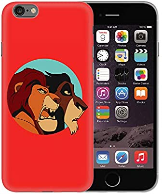 Skar and Mufasa Lions Animated Movie Classic_BEN2529 Protective Phone Mobile Smartphone Case Funda Fundas Carcasa Cover Hard Plastic For iPhone XS MAX Funny Regalo Christmas: Amazon.es: Electrónica