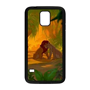 C-EUR Customized Print Lion King Hard Skin Case Compatible For Samsung Galaxy S5 I9600