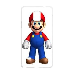 Mario Game Samsung Galaxy Note 4 Cell Phone Case White DIY Ornaments xxy002-3720936