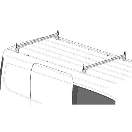 Amazon.com: Juego de 2 barras portaequipaje para techo, para ...