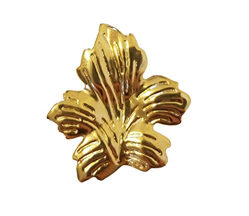 (Gold Tone Metal Filigree Leaf Leaves Craft Accents Jewelry Findings (Pack of 12))