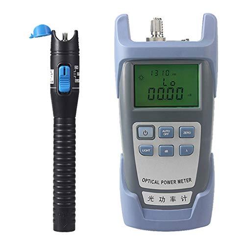 Baosity Portable AUA-9 Optical Fiber Power Meter Tester Measure -70dBm~+10dBm + 1mW 5KM Visual Fault Locator Fiber Tester Detector Meter Pen Black by Baosity (Image #3)