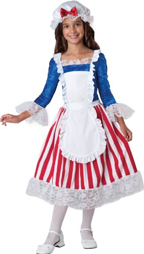 InCharacter Costumes Betsy Ross Costume, Size 8/Medium