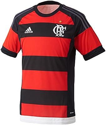 6d2b4153392 adidas CR Flamengo 2015 Home S S Football Shirt - Size XS  Amazon.co.uk   Clothing