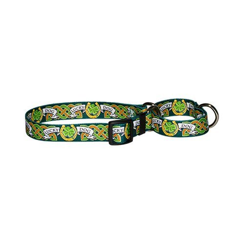 Lucky Dog Martingale Control Dog Collar - Size Large 26'' Long - Made In The USA