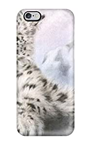 High-end Case Cover Protector For Iphone 6 Plus(snow Leopard)