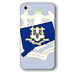 Connecticut USA State Flag For Iphone 6Plus 5.5Inch Case Cover Slim Phone Case