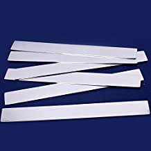 "10pcs tibetara Strip Stainless Steel Tags Stamping Blank bracelet Diy Jewelry Tags,Jewelry making (1/2""x6""(14x152mm))"