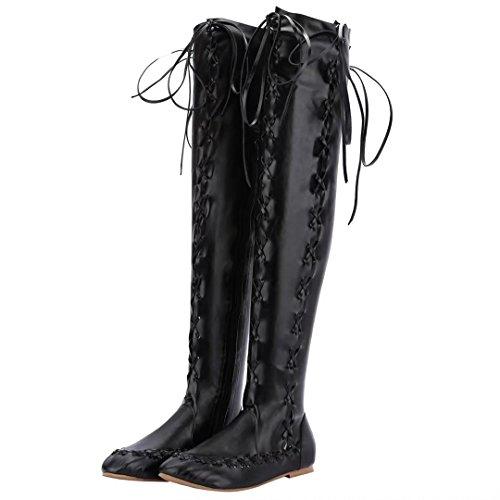 AIYOUMEI Boot Boot WoMen AIYOUMEI Classic Classic Black Black WoMen S7qHHw