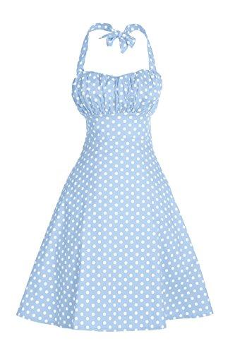 Buy light blue 50s dress - 1