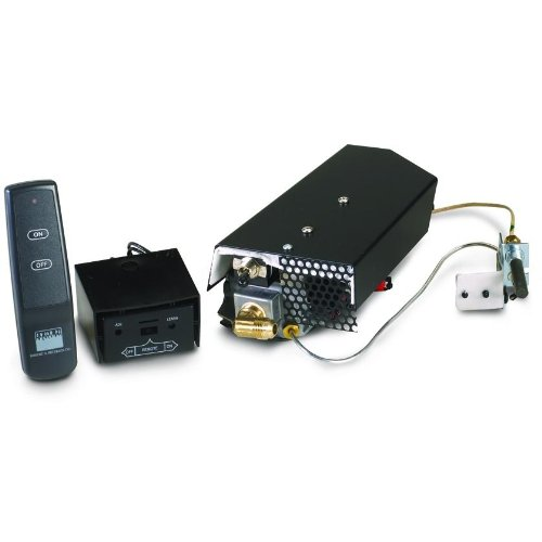 Peterson Real Fyre Low Profile Propane Automatic Pilot Kit With Basic On/Off Remote by Peterson Real Fyre