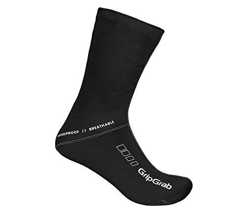 GripGrab Fahrradsocken WindProof Socks, Schwarz, M, 3006