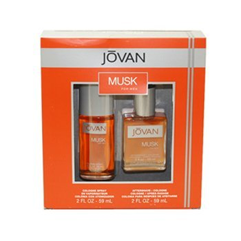Coty Jovan Musk 2 Piece Gift Set for Men