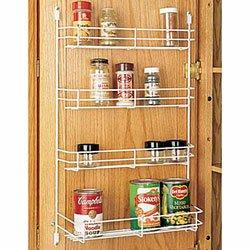 Delicieux Rev A Shelf 565 10 52 Door Mount Spice Rack   Wire