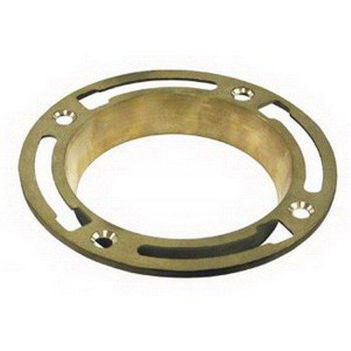 Jones Stephens Corp - 1-1/8 Deep Seal Brass Closet Flange