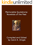 Memorable Quotations: Novelists of the Past (English Edition)