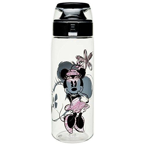 Zak Designs MMOP-K950 Disney Water Bottles Tritan, Minnie -