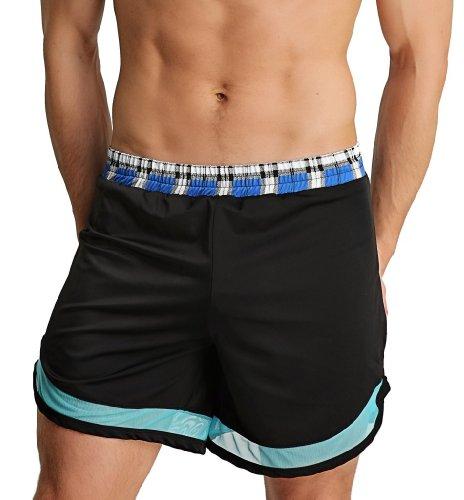 4-rth Swim Gym Short-Black-M