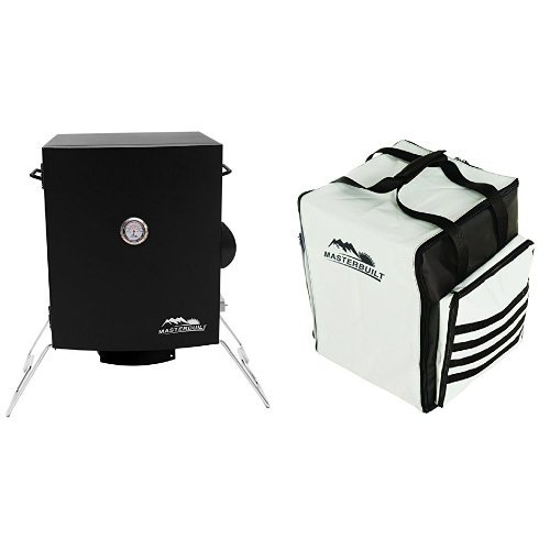 Masterbuilt 20073716 Portable Electric Smoker + Carrying Bag by Masterbuilt