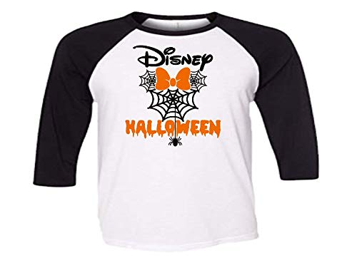 Handmade Disney Family Shirt Halloween Minnie Mouse with Spider