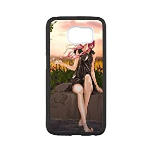 Anime Guilty Crown Samsung Galaxy S6 Cell Phone Case White vbua
