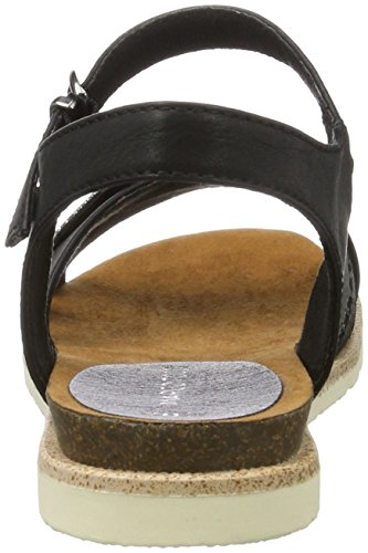 Marco Tozzi Women's 28410 Wedge Heels Sandals Black (Black Comb 098) 9RayFf1tKD