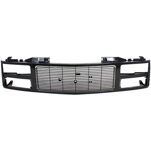 (OE Replacement GMC Pickup Grille Assembly (Partslink Number GM1200391))