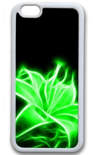 Green nice flower art Easter Thanksgiving Masterpiece Limited Design TPU White Case for iphone 6 by Cases & Mousepads