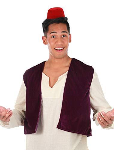 elope Disney Aladdin Fez Hat and Vest
