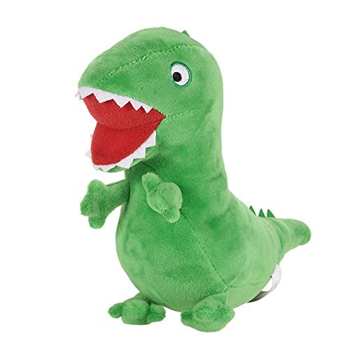 New Genuine Peppa Pig 19cm Green George Dinosaur MR Dinosaur Soft Stuffed Plush Brinquedos for Children Gift -