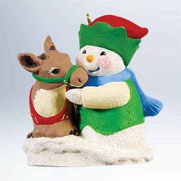 2011 Hallmark Snow Buddies Ornament #14 in Series