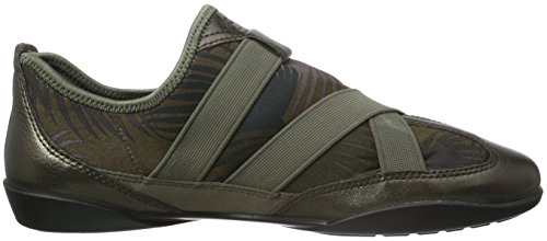 Ecco ECCO BLUMA Zapatillas, Mujer Multicolor (LICORICE METALLIC/TARMAC PALM PRINT59980)