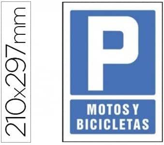 PICTOGRAMA SYSSA SEÑAL DE PARKING MOTOS Y BICICLETAS EN PVC ...