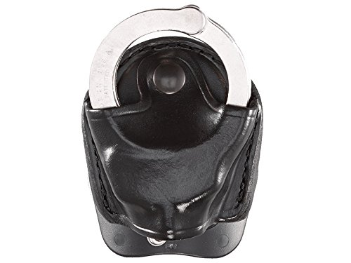 - Aker Leather 607 D.M.S. (Dual Mounting Series) Handcuff Case, Black, Fits Standard Chain Handcuffs
