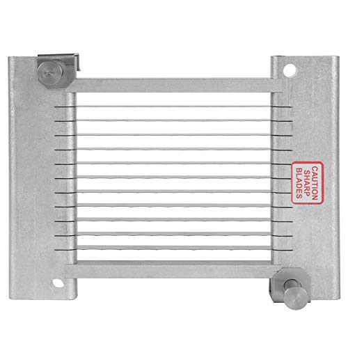 """TableTop King 55868-1SC 3/8"""" Replacement Blade Assembly for Scalloped Easy Chicken Slicer"""