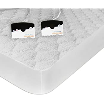 biddeford blankets sherpa heated mattress pad 76 by 80