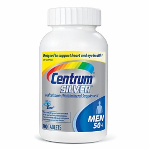 Centrum Silver Men 50+, 500 Tablets ,Centrum-h9
