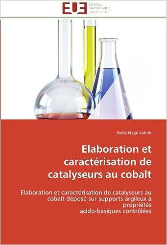 Elaboration et caracterisation de catalyseurs au cobalt elaboration et caracterisation de catalyseurs