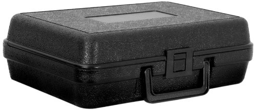 Cases By Source B1173 Blow Molded Empty Carry Case, 11 x 7 x 3.5, - Plastic Case Molded Storage