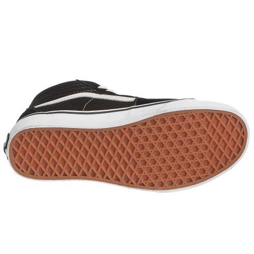 Vans Sk8-Hi - Zapatillas de skateboarding de ante para hombre Negro (Schwarz/Fog)