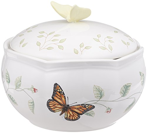 Lenox Butterfly Meadow Covered Box - Covered Jewelry Box