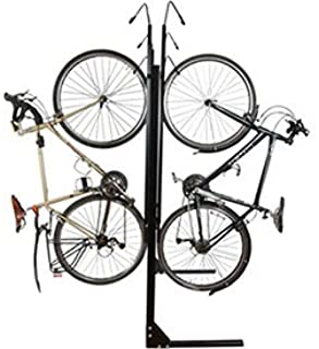 "product image for 8-Bike Vertical Bike Rack, Double Sided, Non-Locking, 72""W x 90""D"