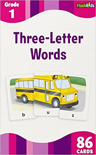 3 Letter Words (Flash Kids Flash Cards): Amazon.co.uk: Flash Kids ...