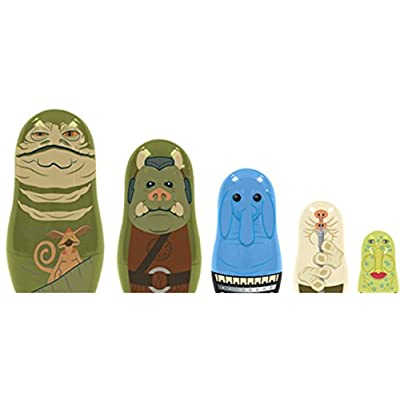 Star Wars Jabba's Palace Nesting Dolls - Entertainment Earth Exclusive: Toys & Games