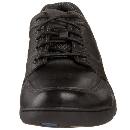 Hush Puppies Mens Atune Oxford Black Leather
